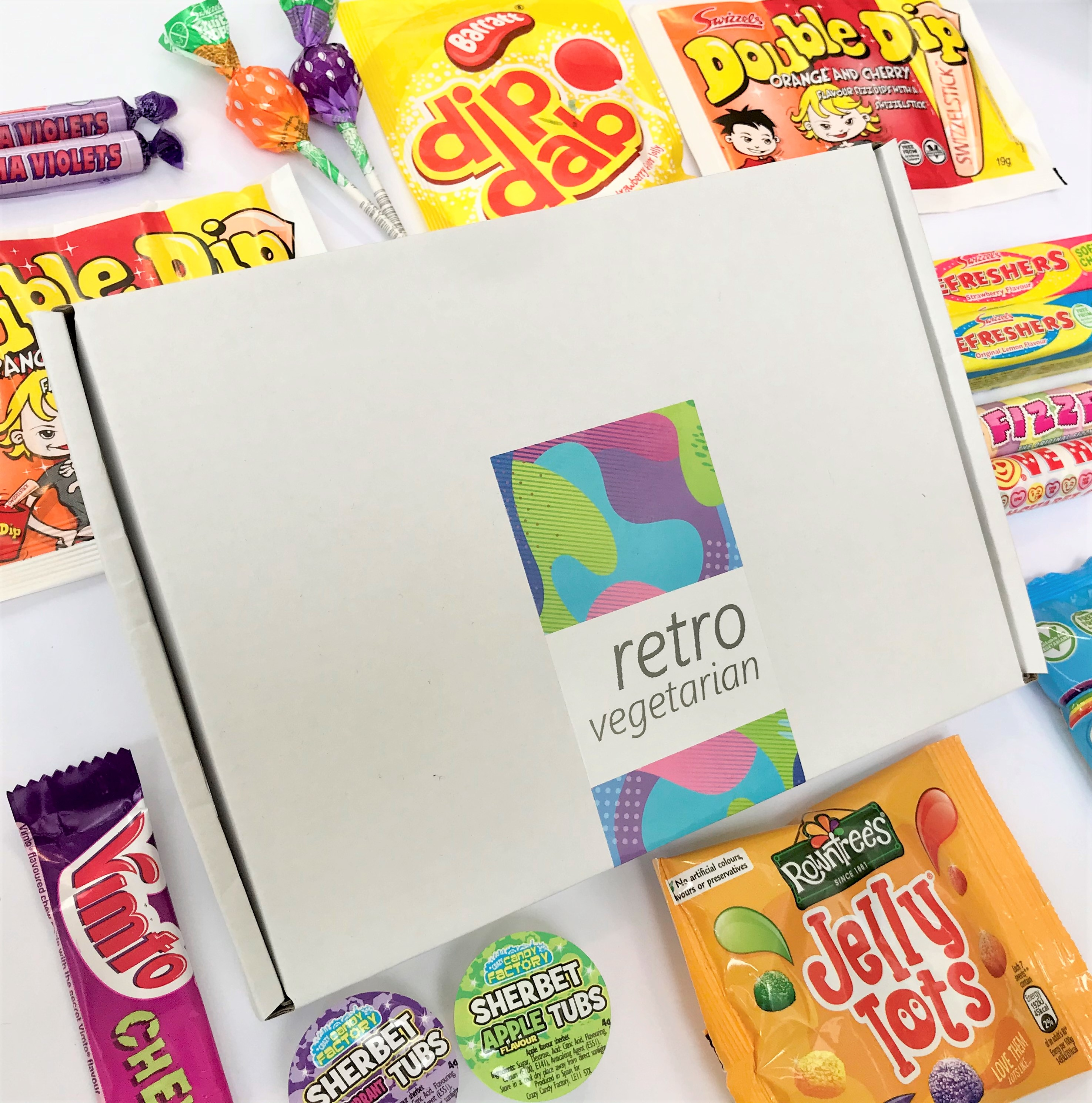 RetroVegetarian Gift Box